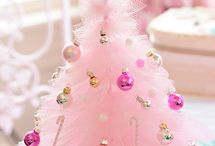 christmas in pink