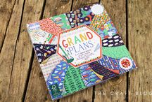 First Edition Grand Plans / Take a trip down memory lane with First Edition's retro paper pad Grand Plans, designed by Jessica Hogarth! From vintage records, guitars and stereos to quirky moustaches and cars, this charming collection has everything you need to make a craft any man would be happy to receive! Jessica has used a simple yet striking colour palette to draw focus on the illustrative patterns featured throughout.