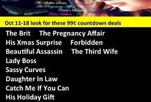Countdown Deals 99 cents each