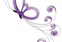 motyle a dekoracia