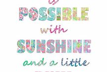 Lilly Pulitzer & Kate Spade!