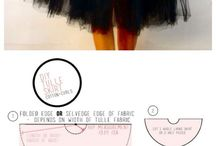 TULLE SKIRT FOR WOMAN
