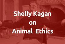 Shelly Kagan on Animal Ethics