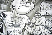 Tattoo idea's / by Christian