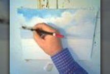Male skyer