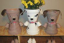 pot de fleurs
