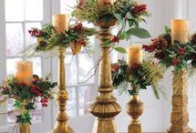 asztal diszek adventra