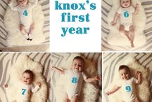 monthly baby shoot