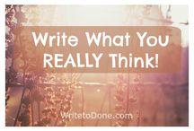 Writing Tips, Motivation & Inspiration