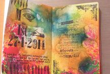 Art Journalling / This is my showcase for journal pages that inspire me as well as my own little creations