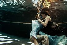 Underwater Weddings / Underwater, freedive Wedding photos before, during and after the wedding day...