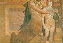 Achille, gli Dei e le Muse / Mitologia e paganesimo, eterne fonti di ispirazione per gli artisti