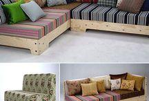 κήπος καναπές