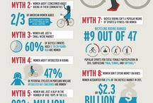 Reasons to Ride / Debunking #womenscycling myths and giving you reasons to ride.