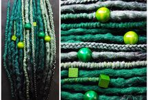 SYNTHETIC DREADS FOR SALE / Mad dreadmaker say: take them home and let your madness be visiable ;) If you're interested in these or custom set contact me via facebook or via e-mail dreadlockmadness@gmail.com