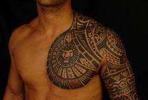 Maori tatoeages
