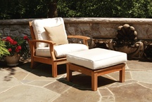 Outdoor Patio Sectionals / Come in and check them out. Wicker, teak and more.