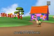 Goosey Goosey Gander - Nursery Rhymes