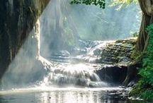 Cachoeiras e Mares / Natureza e seus prazeres naturais