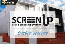 Timber Screens / Screen Up - Slat Screening System
