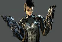 Cyberpunk/scifi