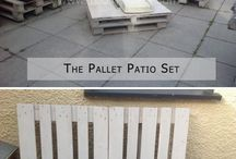 Palettes  salon de jardin