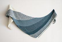 Šátky pletené