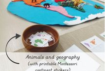 Montessori: geografía e historia