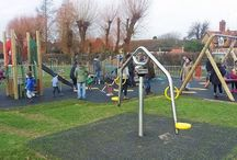Exciting New Playgrounds / A selection of completed Playdale playgrounds throughout the UK and abroad. For more information visit our website - www.playdale.co.uk and request a catalogue.