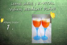 Zdravé nápoje / Súťažná kategória: Recepty zdravých nápojov http://k-vital.sk/sutaz-zdravy-napoj/