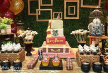 festas do Harry Potter