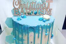 Liam's baptism cake