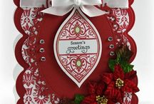 Cards...Christmas...Ornaments, Candles & Candy Canes