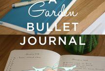 Bullet Journal Garden Planner