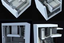 residências minimas / espaços mistos