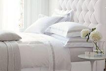 white leather bedroom