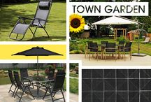 Town Garden / Inspiration for creating your own beautifully functional outdoor space.