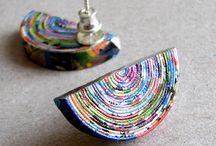Jewellery - Unusual Materials