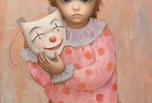 Маргарет Кин / Маргарет Кин (англ. Margaret Keane, р. 1927) - современная американская художница. Биография, картины: http://contemporary-artists.ru/Margaret_Keane.html