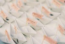 Poligrafia ślubna / Zaproszenia, winietki, karty menu, podziękowania
