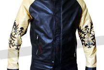 Kung Fury David Hasselhoff Jacket / Kung Fury David Hasselhoff Leather Jacket