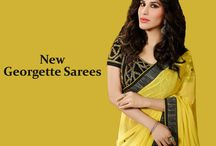 Georgette Saree Collection