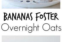 Recipes: Overnight Oatmeal