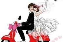 Ślub - digi stemple
