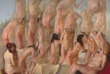 Paintings: Nudes