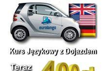 EUROLANGO Kursy Językowe / Ciekawa Szkoła Językowa ze Szczecina oferująca kursy języka angielskiego z dojazdem do klienta