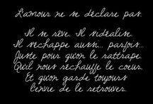 Citations d'amour / Amour, passion, coup de foudre