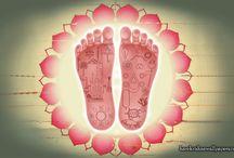 Art Work - Lotus Feet / Beautifull wallpapers of Lotus Feet maid by ISKCON Desire Tree