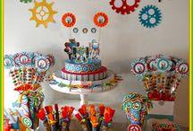 Muebles calcomanías / Muebles decorados