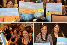 A look at Fundraising Events / Painting events are great for fundraisers. We provide special pricing for approved events.For more information go to letspainttonight.com